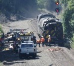 An Amtrak passenger train collided with a truck stopped on the tracks in Berlin, CT.